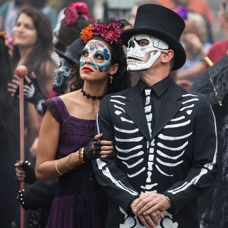 Spectre - Stephanie Sigman stars as Estrella and Daniel Craig stars as James Bond in Sony Pictures' Spectre (2015)
