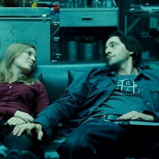 Sarah Polley stars as Elsa and Adrien Brody stars as Clive in Warner Bros. Pictures' Splice (2010)