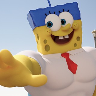SpongeBob SquarePants from Paramount Pictures' The SpongeBob Movie: Sponge Out of Water (2015)