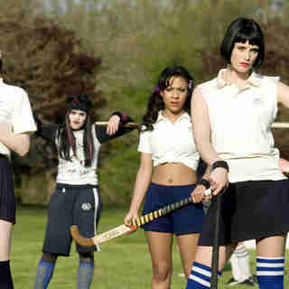 Talulah Riley stars as Annabelle Fritton and Gemma Arterton stars as Kelly in NeoClassics Films' St. Trinian's (2009)