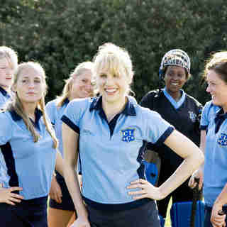 Lucy Punch stars as Verity Thwaites in NeoClassics Films' St. Trinian's (2009)