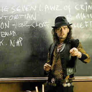 Russell Brand stars as Flash in NeoClassics Films' St. Trinian's (2009)