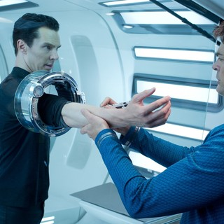 Star Trek Into Darkness - Benedict Cumberbatch stars as John Harrison/Khan in Paramount Pictures' Star Trek Into Darkness (2013)