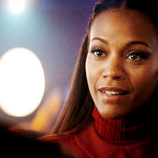 Star Trek - Zoe Saldana stars as Nyota Uhura in Paramount Pictures' Star Trek (2009)