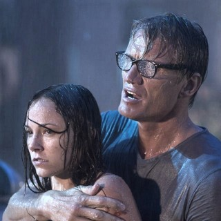 Briana Evigan stars as Emma Nash and Dolph Lundgren stars as Andy Spector in After Dark Films' Stash House (2012)