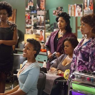 Adepero Oduye, Condola Rashad, Phylicia Rashad, Jill Scott and Alfre Woodard in Lifetime Movie Network's Steel Magnolias (2012)