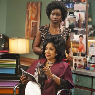 Phylicia Rashad stars as Clairee and Adepero Oduye stars as Annelle in Lifetime Movie Network's Steel Magnolias (2012)