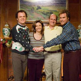 (L-R) John C. Reilly, Mary Steenburgen, Richard Jenkins and Will Ferrell star in Columbia Pictures' comedy STEP BROTHERS (2008).