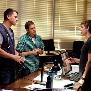Channing Tatum, Jonah Hill and Dave Franco in Columbia Pictures' 21 Jump Street (2012)