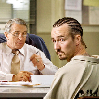 Robert De Niro stars as Jack Mabry and Edward Norton stars as Gerald 'Stone' Creeson in Overture Films' Stone (2010)