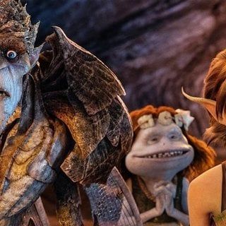 Bog King and Marianne from Touchstone Pictures' Strange Magic (2015)