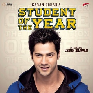 Poster of Eros International's Student of the Year (2012)