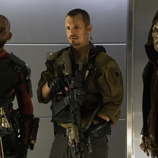Will Smith, Joel Kinnaman and Adewale Akinnuoye-Agbaje in Warner Bros. Pictures' Suicide Squad (2016) - suicide-squad07