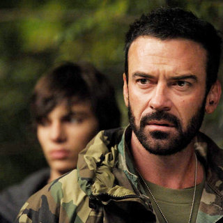Devon Bostick stars as Boy and Alan Van Sprang stars as Sarge 'Nicotine' Crocket in Artfire Films' Survival of the Dead (2010)