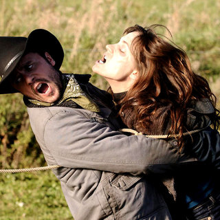 Joris Jarsky stars as Chuck and Kathleen Munroe stars as Janet/Jane O'Flynn in Artfire Films' Survival of the Dead (2010)