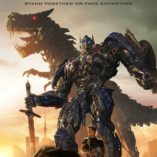Transformers: Age of Extinction - Poster of Paramount Pictures' Transformers: Age of Extinction (2014)