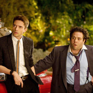 Topher Grace stars as Matt Franklin and Dan Fogler stars as Barry Nathan in Relativity Media's Take Me Home Tonight (2011)
