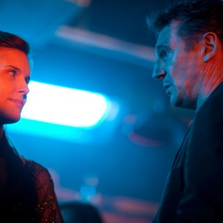 Maggie Grace stars as Kim and Liam Neeson stars as Bryan Mills in The 20th Century Fox's Taken 2 (2012)
