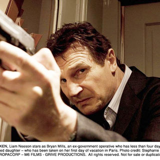 Liam Neeson stars as Bryan Mills in The 20th Century Fox's Taken (2009). Photo credit by Stephanie Branchu. - taken09