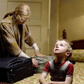 Cate Blanchett stars as Daisy and Charles Henry Wyson stars as Benjamin Button - Age 6 in Paramount Pictures' The Curious Case of Benjamin Button (2008) - tccobb38