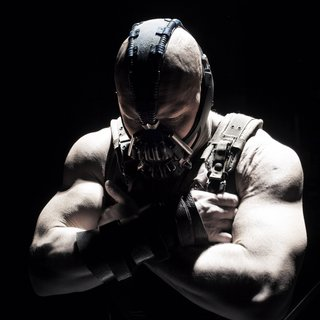 Dark Knight Rises, The - Tom Hardy stars as Bane in Warner Bros. Pictures' The Dark Knight Rises (2012)