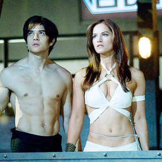 Jon Foo stars as Jin Kazama and Kelly Overton stars as Christie Monteiro in Crystal Sky Pictures' Tekken (2009) - tekken11