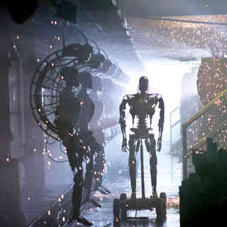 Terminator Salvation - A scene from Warner Bros. Pictures' Terminator Salvation (2009)