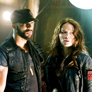 Common stars as Barnes and Moon Bloodgood stars as Blair Williams in Warner Bros. Pictures' Terminator Salvation (2009) - terminator_salvation64