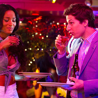 Ciara stars as Brie and Andy Samberg stars as Todd Peterson in Columbia Pictures' That's My Boy (2012)