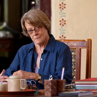 Maggie Smith stars as Muriel Donnelly in Fox Searchlight Pictures' The Second Best Exotic Marigold Hotel (2015). Photo credit by Laurie Sparham. - the-2nd-marigold-hotel-img01