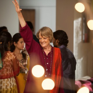 Maggie Smith stars as Muriel Donnelly in Fox Searchlight Pictures' The Second Best Exotic Marigold Hotel (2015). Photo credit by Laurie Sparham. - the-2nd-marigold-hotel04