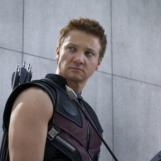 Avengers, The - Jeremy Renner stars as Clint Barton/Hawkeye in Walt Disney Pictures' The Avengers (2012)