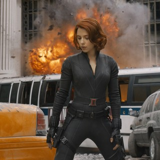 Scarlett Johansson stars as Natasha Romanoff/Black Widow in Walt Disney Pictures' The Avengers (2012)