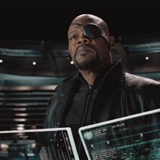 Avengers, The - Samuel L. Jackson stars as Nick Fury in Walt Disney Pictures' The Avengers (2012)
