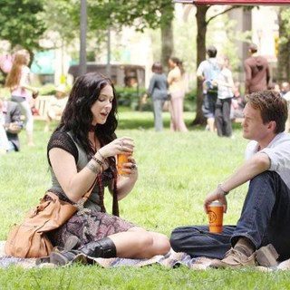 Bridget Regan stars as Robin and Neil Patrick Harris stars as Jeff in PMK*BNC's The Best and the Brightest (2011)