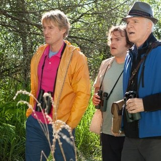Owen Wilson, Jack Black and Steve Martin in 20th Century Fox's The Big Year (2011)