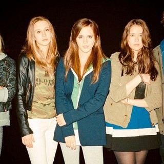 Claire Julien, Taissa Farmiga, Emma Watson, Katie Chang dan Israel Broussard in A24's The Bling Ring (2013)