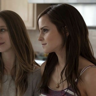 Taissa Farmiga stars as Sam and Emma Watson stars as Nicki in A24's The Bling Ring (2013)