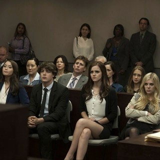 Katie Chang, Israel Broussard, Emma Watson, Claire Julien and Leslie Mann in A24's The Bling Ring (2013)