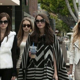 Israel Broussard, Emma Watson, Taissa Farmiga, Katie Chang and Claire Julien in A24's The Bling Ring (2013)