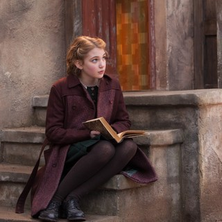 Sophie Nelisse stars as Liesel Meminger in 20th Century Fox's The Book Thief (2013) - the-book-thief07