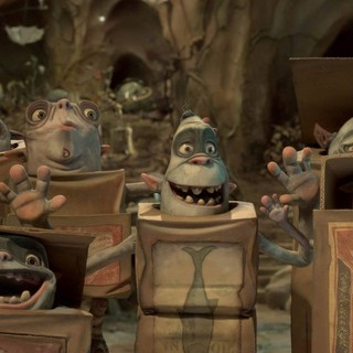 A scene from Focus Features' The Boxtrolls (2014)