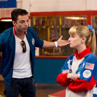 Sebastian Stan stars as Lance and Melissa Rauch stars as Hope Annabelle Greggory in Sony Pictures Classics' The Bronze (2016) - the-bronze06