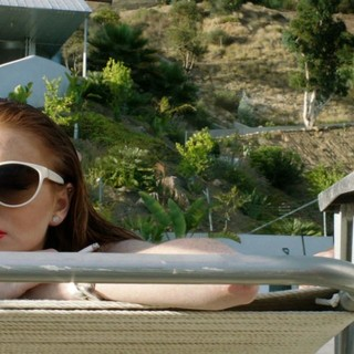 Canyons, The - Lindsay Lohan stars as Tara and James Deen stars as Christian in IFC Films' The Canyons (2013)