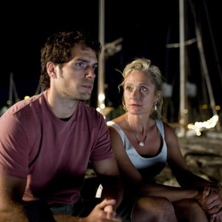Henry Cavill stars as Will Shaw and Caroline Goodall stars as Laurie Shaw in Summit Entertainment's The Cold Light of Day (2012)
