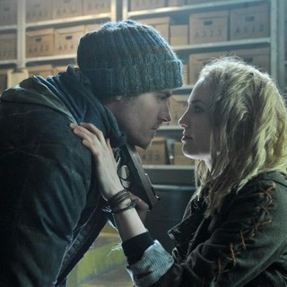 Kevin Zegers stars as Sam and Charlotte Sullivan stars as Kai in Image Entertainment's The Colony (2013)