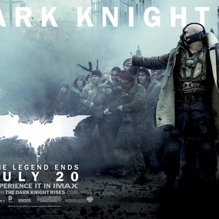 Dark Knight Rises, The - Poster of Warner Bros. Pictures' The Dark Knight Rises (2012)