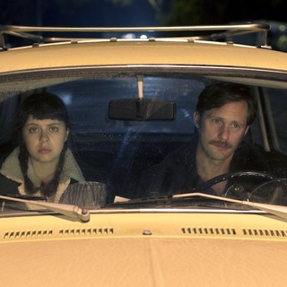 Bel Powley stars as Minnie and Alexander Skarsgard stars as Monroe in Sony Pictures Classics' The Diary of a Teenage Girl (2015)