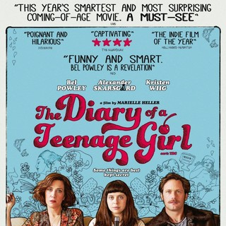 Poster of Sony Pictures Classics' The Diary of a Teenage Girl (2015)