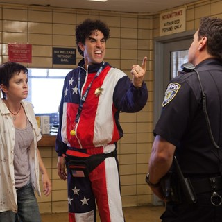 Anna Faris stars as Zoey and Sacha Baron Cohen stars as General Aladeen in Paramount Pictures' The Dictator (2012). Photo credit by Melinda Sue Gordon.